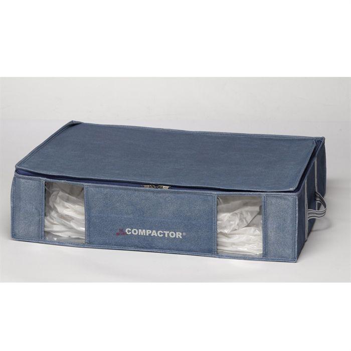 compactor housse pour v tements bleue 145 l achat. Black Bedroom Furniture Sets. Home Design Ideas