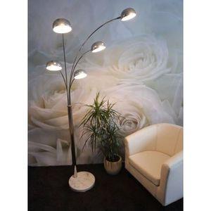 Lampadaire salon sur pied achat vente lampadaire salon - Lampadaire en bois pas cher ...