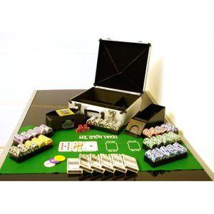 malette coffret poker achat vente jeux et jouets pas chers. Black Bedroom Furniture Sets. Home Design Ideas