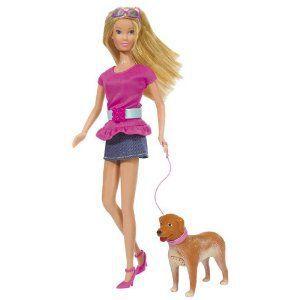 Steffi Promène son chien