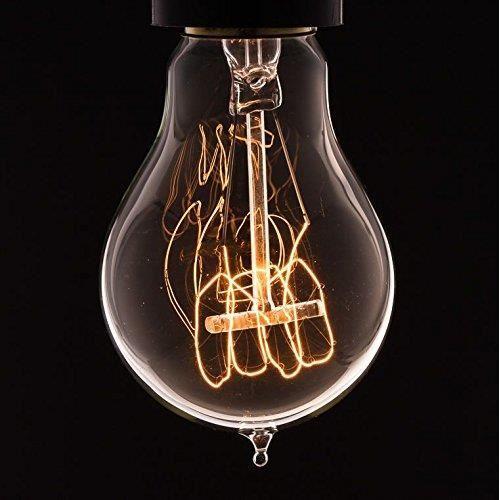 ampoule vintage ampoule filament quatre boucle a vis de 60w de dowsing reynolds achat. Black Bedroom Furniture Sets. Home Design Ideas