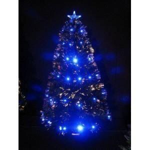 sapin de noel fibre optique 150 cm bleu achat vente sapin arbre de no l cdiscount. Black Bedroom Furniture Sets. Home Design Ideas