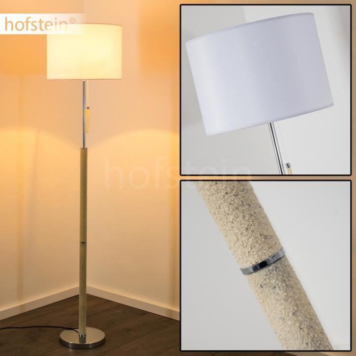 Lampadaire clairage de sol lampe sur pied blanche achat for Eclairage exterieur sur pied