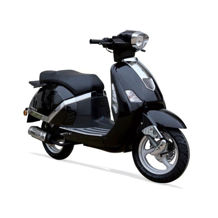 scooter verona 50 noir type vespa achat vente scooter scooter verona 50 noir cdiscount. Black Bedroom Furniture Sets. Home Design Ideas
