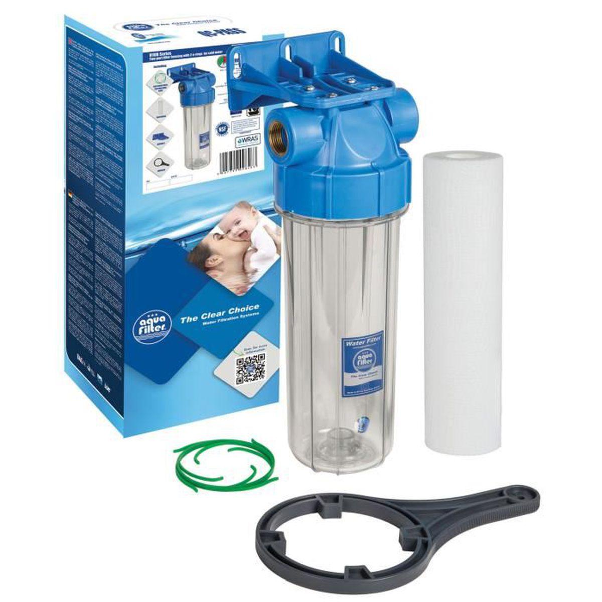 filtration d 39 eau froide 1 en ligne purifie le boitier du systeme filtre entier achat. Black Bedroom Furniture Sets. Home Design Ideas
