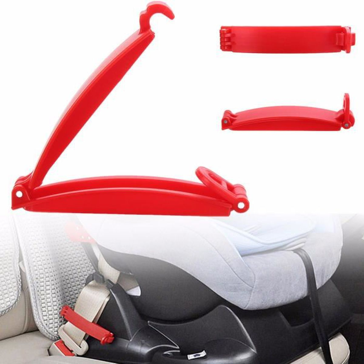 pince ceinture de securite achat vente pince ceinture de securite pas cher les soldes sur. Black Bedroom Furniture Sets. Home Design Ideas