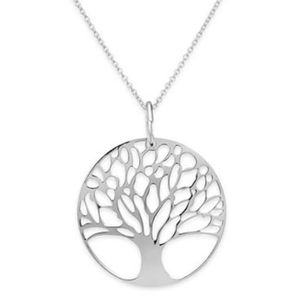 Pendentif arbre de vie argent achat vente pas cher for What is the meaning of the tree of life jewelry