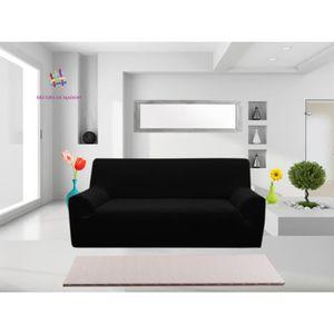 housse canape 3 place achat vente housse canape 3 place pas cher soldes cdiscount. Black Bedroom Furniture Sets. Home Design Ideas