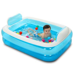 piscine gonflable avec pompe achat vente jeux et. Black Bedroom Furniture Sets. Home Design Ideas