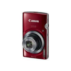 PACK APPAREIL COMPACT RED CANON IXUS 160 + CARD 8GB + CASE