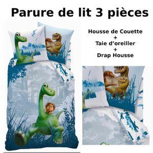 Parure de lit 3pcs housse de couette 140x200 taie for Housse de couette pour lit 140