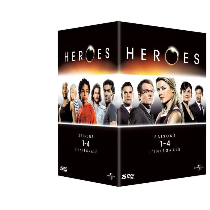 dvd coffret heroes saison 1 4 en dvd s rie pas cher cdiscount. Black Bedroom Furniture Sets. Home Design Ideas