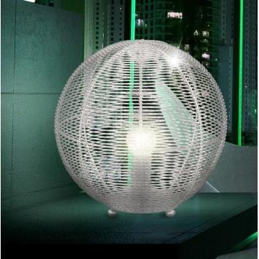 lampe de table ronde aluminium tress 3w led achat vente lampe de table ronde alumin cdiscount. Black Bedroom Furniture Sets. Home Design Ideas