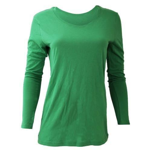 anvil t shirt manches longues femme vert achat vente t shirt cdiscount. Black Bedroom Furniture Sets. Home Design Ideas