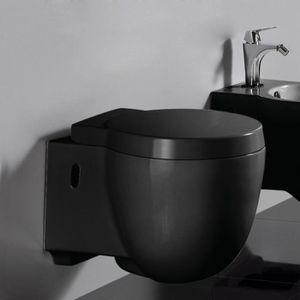 wc suspendu noir achat vente wc suspendu noir pas cher les soldes sur cdiscount cdiscount. Black Bedroom Furniture Sets. Home Design Ideas