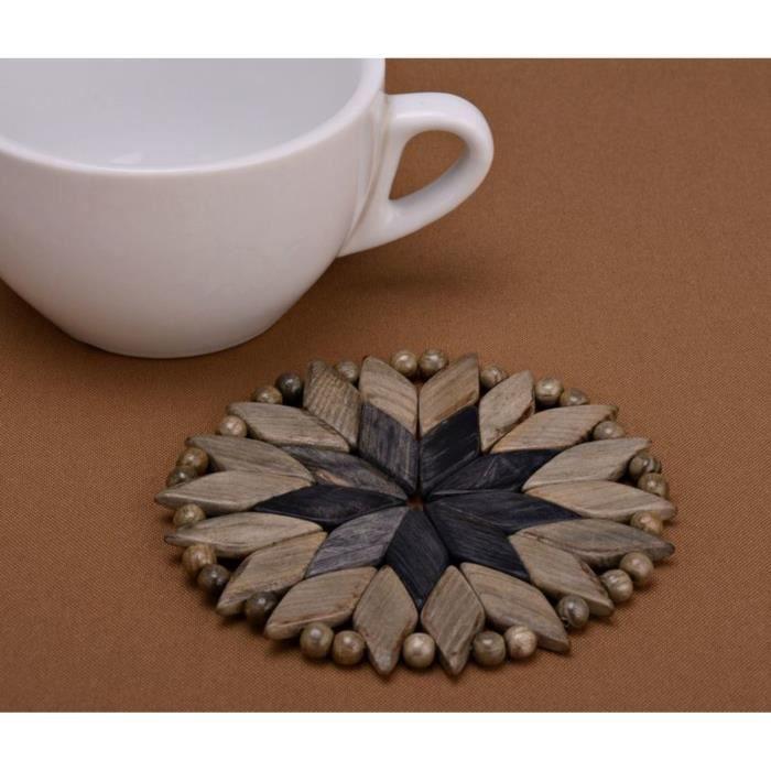 Sous plat fait main est parfait pour y mettre une tasse chaude cette oeuvre - Dessous de plat original ...