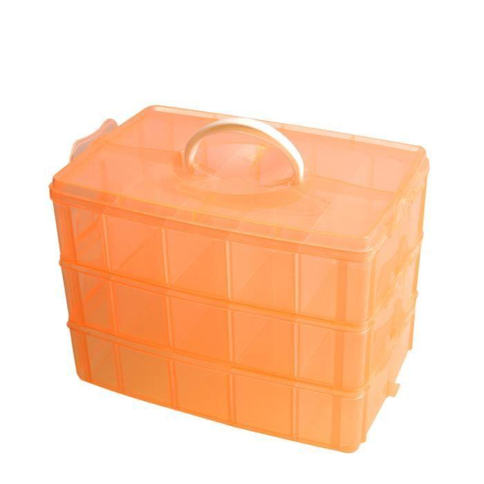 Boite de rangement plastique 30 chambre r glable achat - Jeu rangement de chambre ...