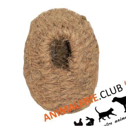 nid en coco pour oiseaux exotiques achat vente nichoir nid nid en coco pour oiseaux ex. Black Bedroom Furniture Sets. Home Design Ideas