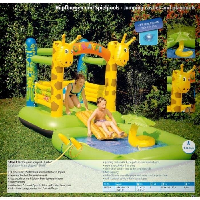 aire de jeux gonflable avec piscine achat vente aire