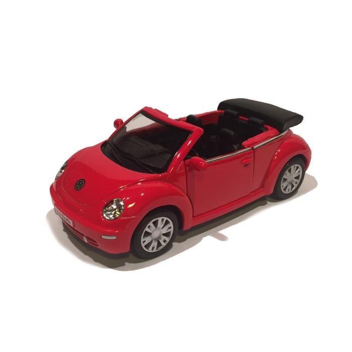 new beetle decapotable volkswagen 1 32 eme 2083 achat vente voiture enfant cdiscount. Black Bedroom Furniture Sets. Home Design Ideas