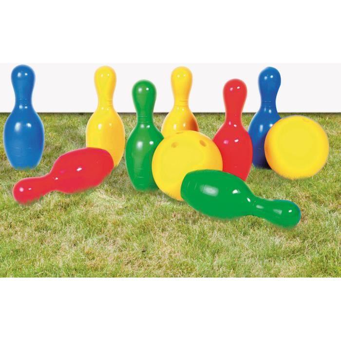 jeu de bowling g ant 8 quilles et 2 boules achat vente jeu de quille les soldes sur. Black Bedroom Furniture Sets. Home Design Ideas