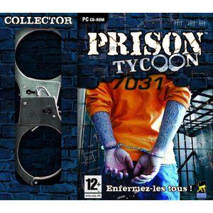 JEU PC PRISON TYCOON COLLECTOR AVEC UNE PAIRE DE MENOTTES