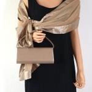 echarpe foulard etole chle grand foulard habi bruntaupe - Etole Beige Mariage