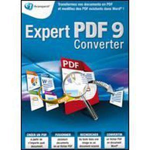 LOGICIEL À TÉLÉCHARGER Expert PDF 9 Converter