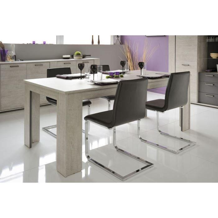 Loft table manger extensible 120 200 cm garantie 2 ans achat vente tabl - Discount table a manger ...