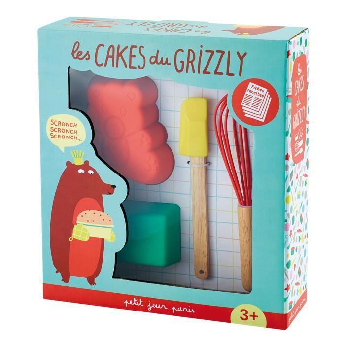 coffret p tisserie les cakes du grizzly achat vente dinette cuisine les soldes sur. Black Bedroom Furniture Sets. Home Design Ideas