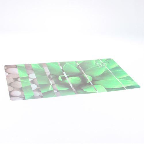 Set de table rectangulaire design zen vert achat for Set de table rectangulaire