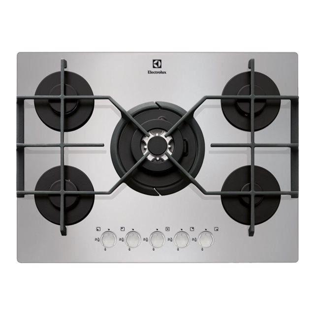 table de cuisson electrolux egt7353yox achat vente plaque gaz cdiscount. Black Bedroom Furniture Sets. Home Design Ideas