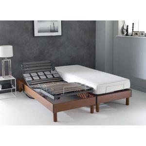 matelas pour lit electrique 80 200 memoire de forme achat vente matelas pour lit electrique. Black Bedroom Furniture Sets. Home Design Ideas