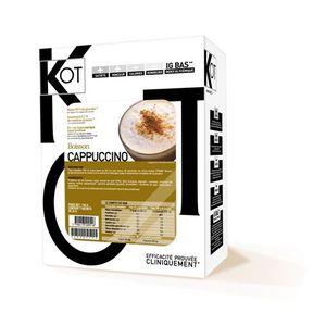 GOÛTER MINCEUR Boisson cappuccino 71kcal par sachet