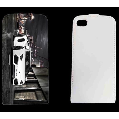 Housse cuir voiture italienne iphone 4 ou 4s achat for Housse cuir iphone 4