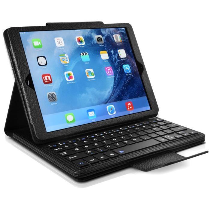 etui avec clavier fran ais azerty bluetooth pour tablette apple ipad mini 4 prix pas cher. Black Bedroom Furniture Sets. Home Design Ideas