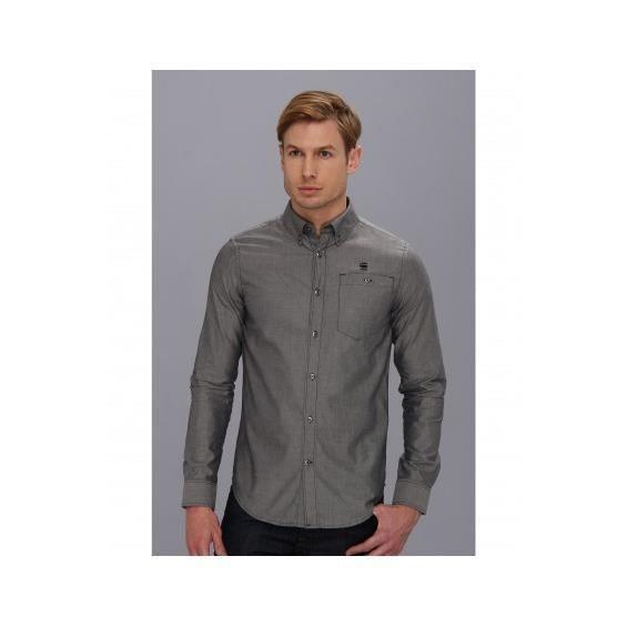 chemise g star correct portage t gris achat vente chemise chemisette cdiscount. Black Bedroom Furniture Sets. Home Design Ideas