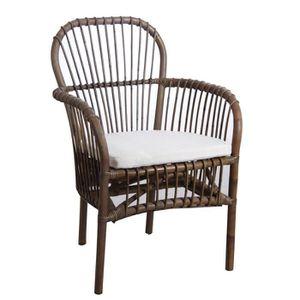 coussin pour fauteuil en rotin achat vente coussin. Black Bedroom Furniture Sets. Home Design Ideas
