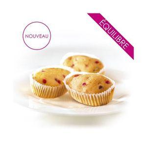 GOÛTER MINCEUR Mini cake aux pépites fruitées - régime minceur