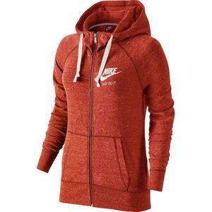 VESTE Nike Veste à Capuche Gym Vintage rouge, femme femm