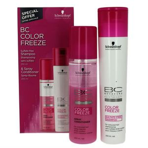 shampoing pack shampoing et spray bc color freeze color - Schwarzkopf Shampoing Colorant