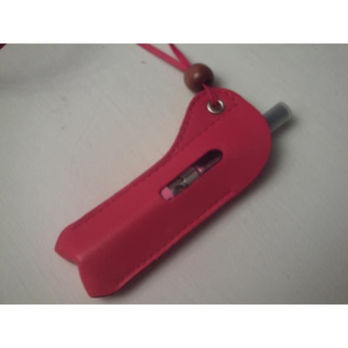Etui porte cigarette lectronique rouge achat vente - Porte cigarette electronique voiture ...