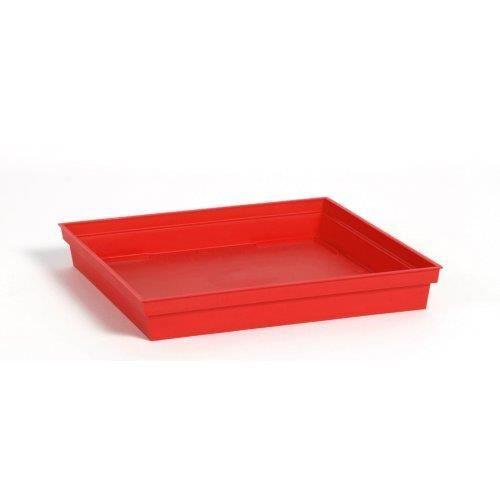 soucoupe pour pot carr toscane eda rouge achat vente jardini re pot fleur soucoupe pour. Black Bedroom Furniture Sets. Home Design Ideas