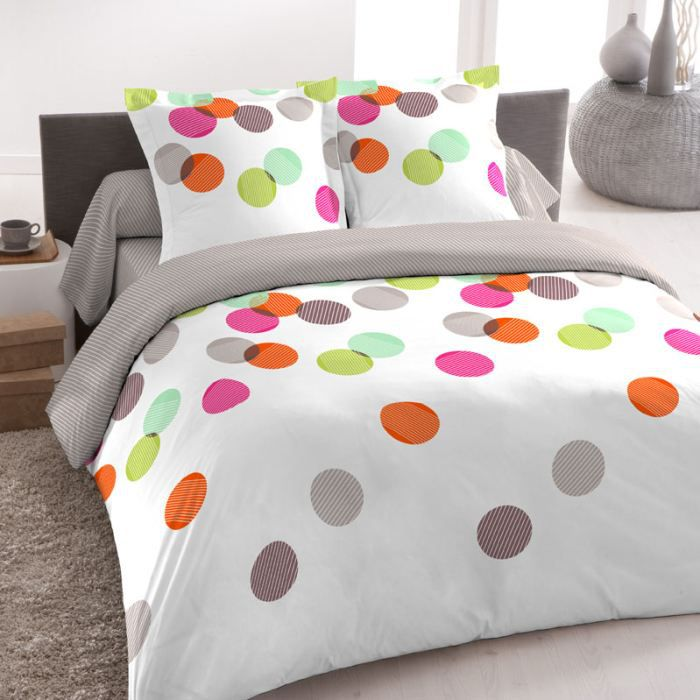 parure drap rondo 240 300 4 pi ces achat vente. Black Bedroom Furniture Sets. Home Design Ideas