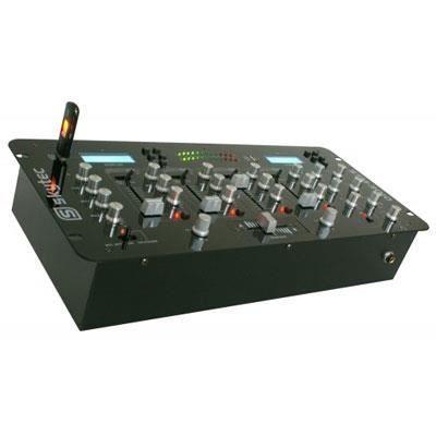table de mixage 4 canaux avec usb mp3 table de mixage. Black Bedroom Furniture Sets. Home Design Ideas