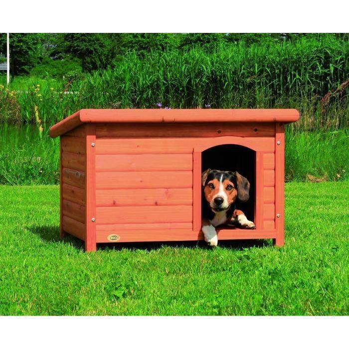 trixie niche toit plat natura pour chien achat vente. Black Bedroom Furniture Sets. Home Design Ideas