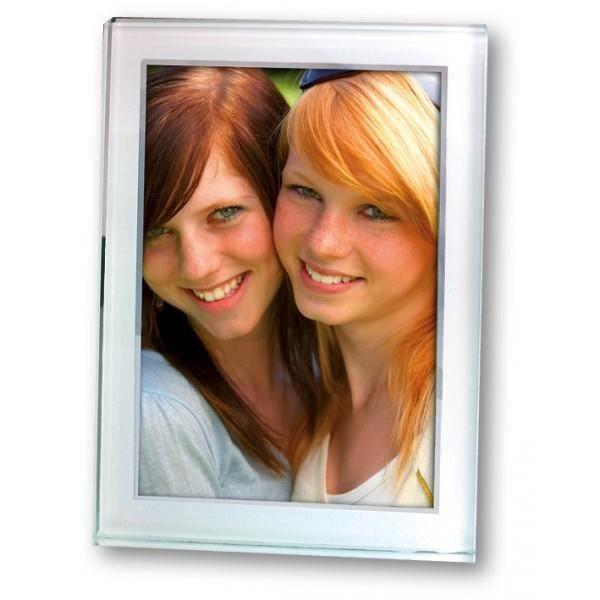 Cadre photo en verre 10x15 cm achat vente cadre photo for Cadre photo en verre