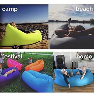Excerando canap gonflable sac couchage matelas gonflable sofa portable lit - Matelas plage gonflable ...