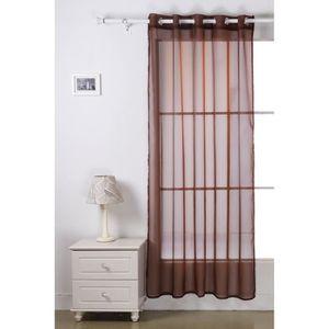 voilage pour chambre achat vente voilage pour chambre pas cher cdiscount. Black Bedroom Furniture Sets. Home Design Ideas