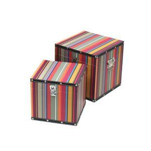 Boite de rangement en bois et metal achat vente boite - Boites de rangement pas cher ...
